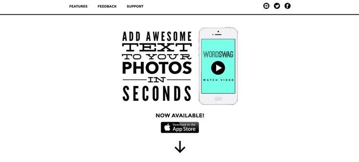 Word Swag – generate cool text, words & quotes on your photos / wygeneruj zabawny tekst, wyrazy lub cytaty i umieść na swoich zdjęciach http://www.start4app.pl/word-swag-cool-text-on-photo/