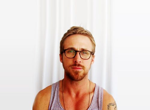 ugh hot little hipster man. ryan gosling, be on me.
