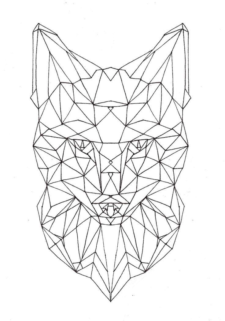 прикольный геометрический рисунок
