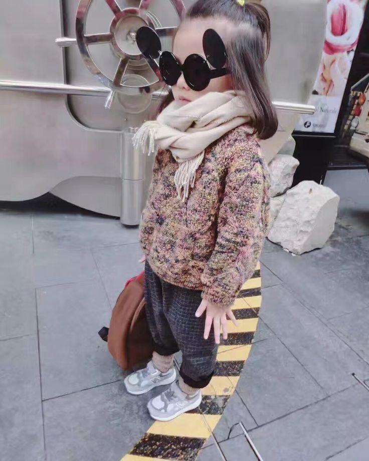 GL4003 2016/17 AW Trendy Girl's Fashion Chunky Sweater
