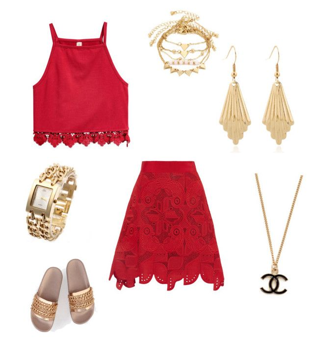 """Make 'Em See Red"" by gryffashionor on Polyvore featuring Antonio Berardi"
