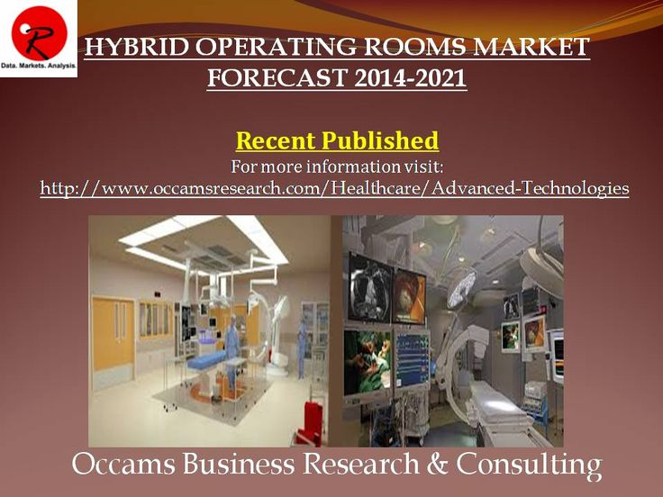Published New Report Hybrid Operating Rooms Market Forecast 2014-2021 More Information Visit: http://www.occamsresearch.com/table-of-contents/Global-Hybrid-Operating-Rooms-Market-By-Application-Therapeutic--Cardi
