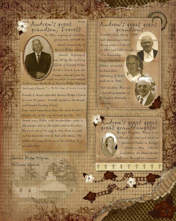 Godly Heritage 2...nice layout for genealogy info