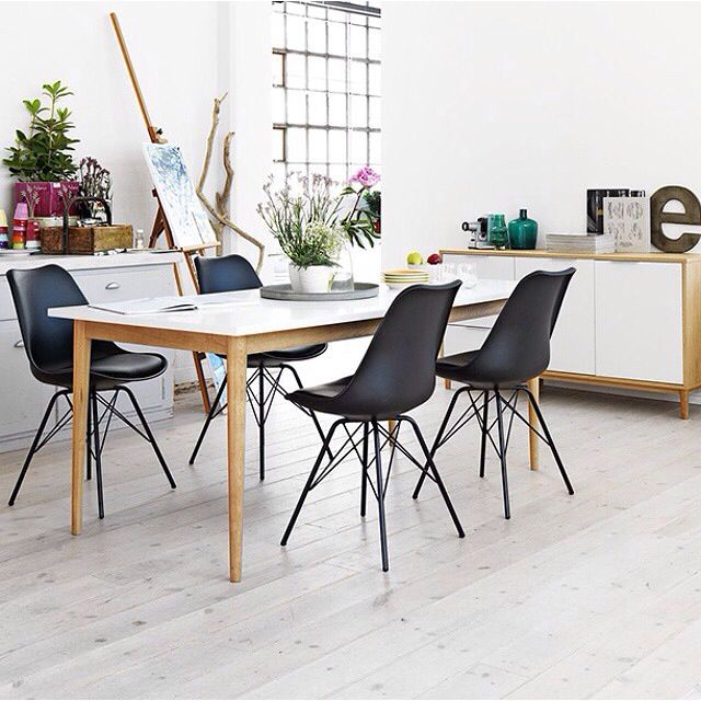 Klarup Chairs And Risskov Dining Table Are A Perfect Match