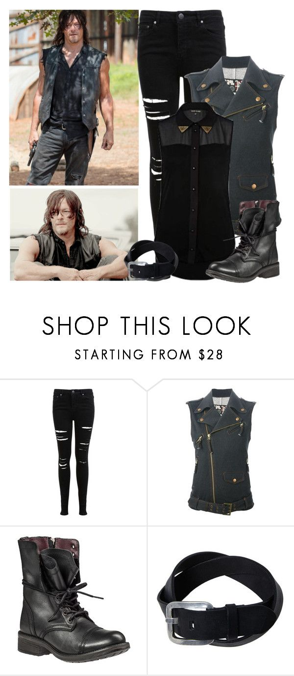 """""""The Walking Dead - style"""" by bebe6121985 on Polyvore featuring Miss Selfridge, Jean-Paul Gaultier and Steve Madden"""