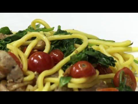 Recept: Spaghetti al spinaci + VIDEO | iGurmet.cz