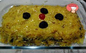 Cozinhando sem Glúten: Torta de coco, ameixas e ovos moles