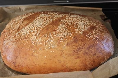 Lyst Italiensk brød med skikkelig sprø skorpe! (kjerstisandnes)