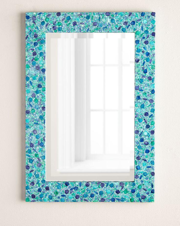 Espejo rectangular Oceanía