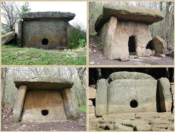In the Caucasus mountains of Russia, not far from the cities Tzelentzchik, Touapse, Novorossiysk and Sochi, there are hundreds of megalithic…