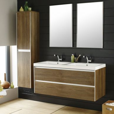 The Erin Furniture Pack From Hudson Reed Features A Gorgeous Textured Oak Finish Light Oak Furniturebathroom