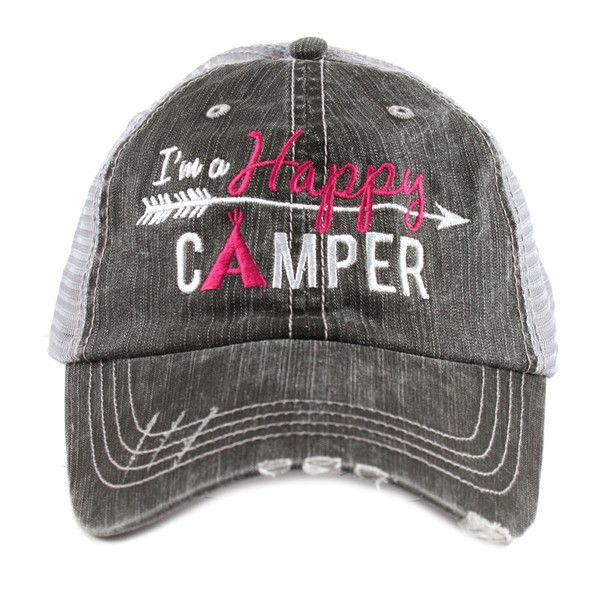 Hat {I'm a happy camper}