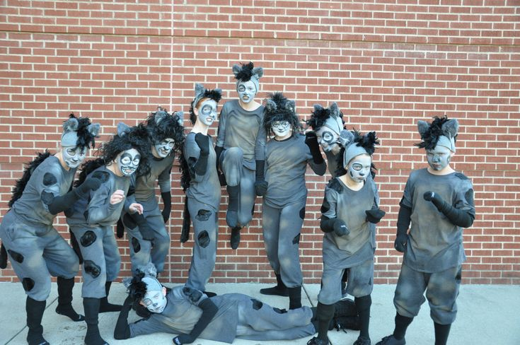 Lion King, Jr. - Hyenas - St. Anthony Grade School