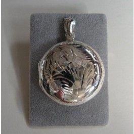 Medaillonsieraden zilveren medaillon