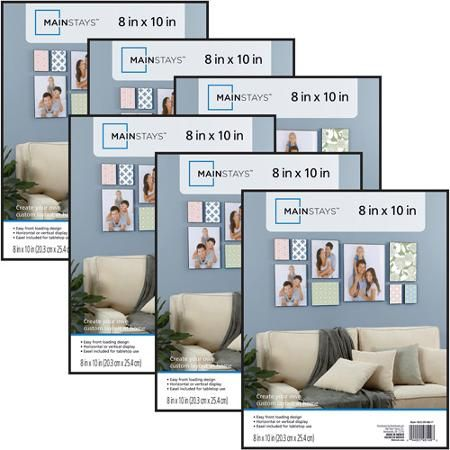 """8""""x10"""" Picture Frames, Set of 6"""