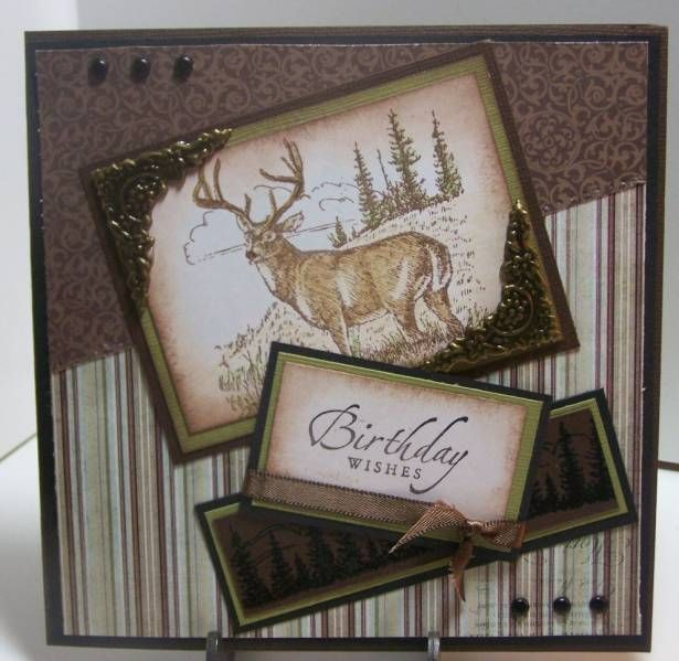 192 best stampin up mens card ideas images on pinterest masculine card by deanne bookmarktalkfo Choice Image