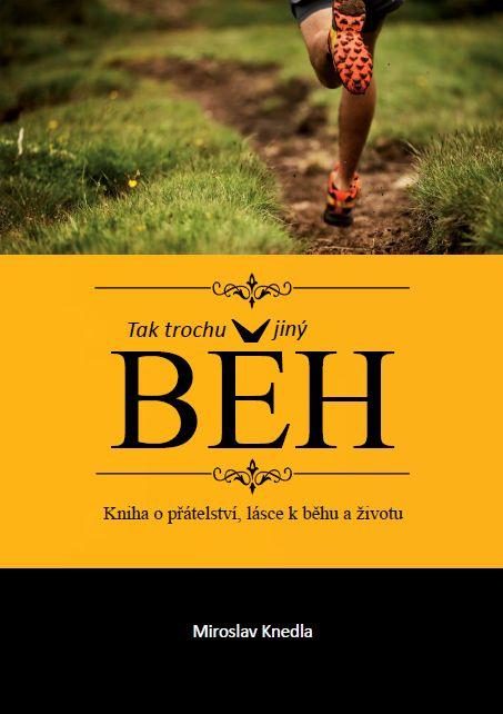 Obálka mé knihy o běhu  #běh  #kniha