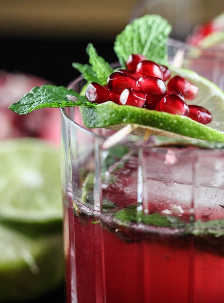 Christmas Trees Simple Syrup And Pomegranates On Pinterest