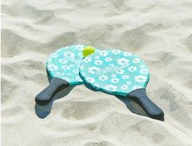 BEACH FUN BAT & BALL SET  - AQUAMARINE