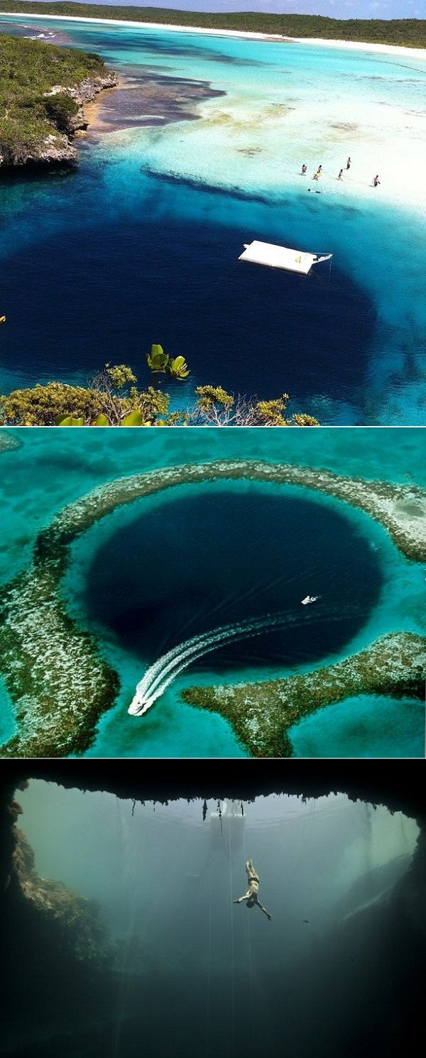 Dean's Blue Hole :: Bahamas •• [It's the world's largest ...