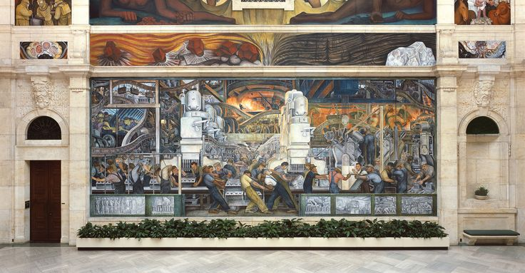 17 best images about american mural painting on pinterest for Diego rivera mural chicago