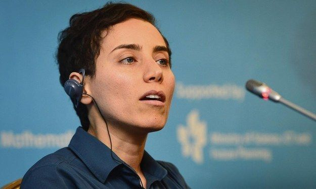 This is Maryam Mirzakhani, 37, the Iranian mathematician who just become the fir...