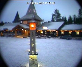 Cámara web: el pueblo de Papá Noel / Santa Claus (Rovaniemi, Finlandia)