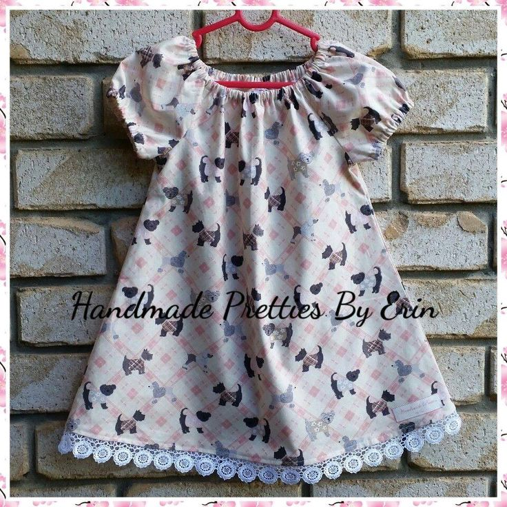 Handmade by Handmade Pretties By Erin  Size 18/24months Peasant Dress