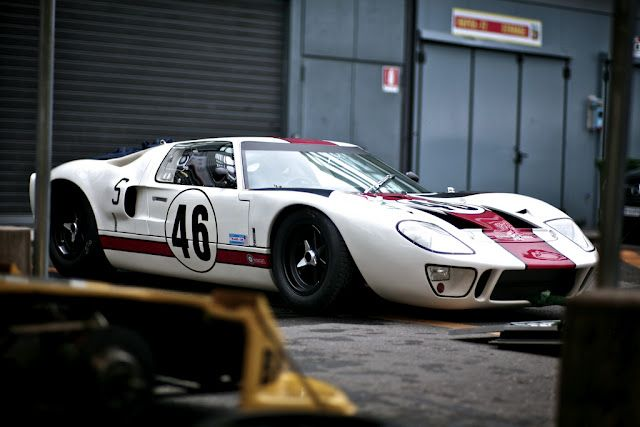 GT40 - one of the factory cars, not Cosworth, they were Ford Racing Blue
