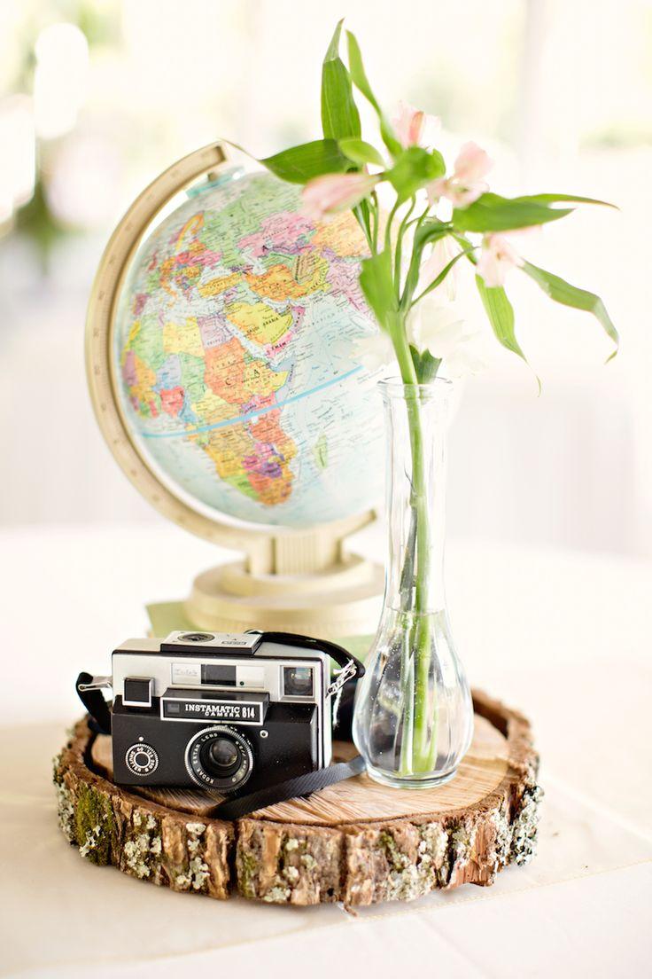 The 176 best reception decor images on Pinterest   Vintage suitcases ...