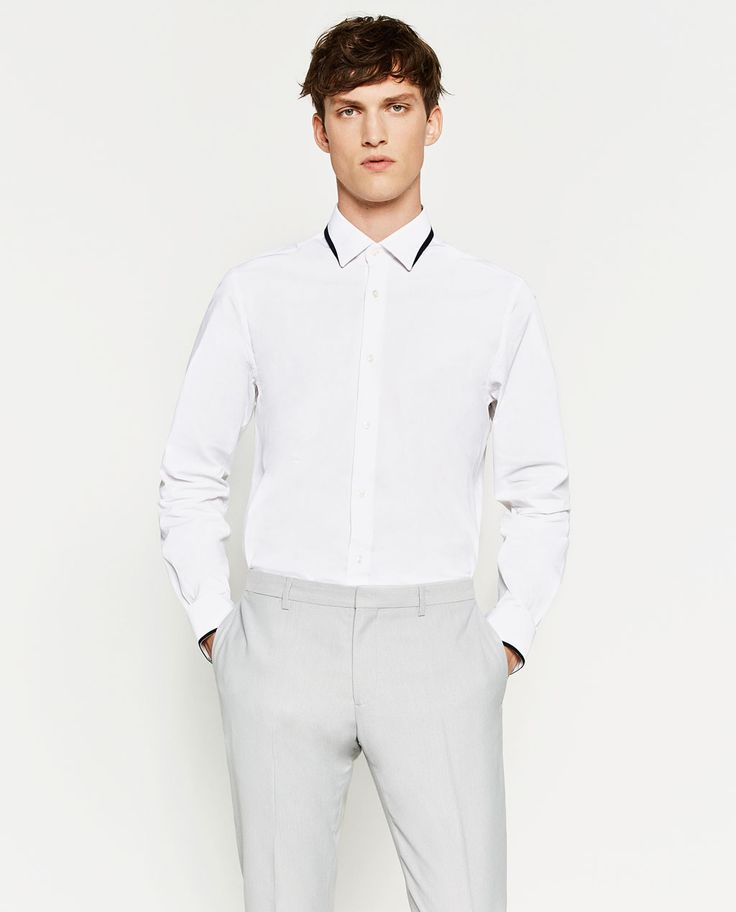 Image 3 of STRETCH SHIRT from Zara