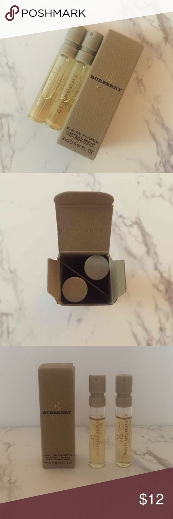 My Burberry Perfume 2 TESTER SIZES  0.07 fl oz each  Never Used  Price Is Firm  No Trades Sephora Makeup