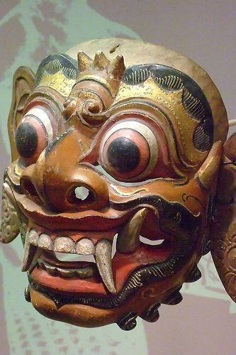 Balinese Wayang Topeng Theater Masks (4)
