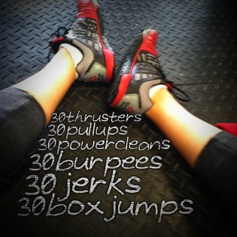 A CrossFit Life: Crossfit WOD. (Workout of the day)