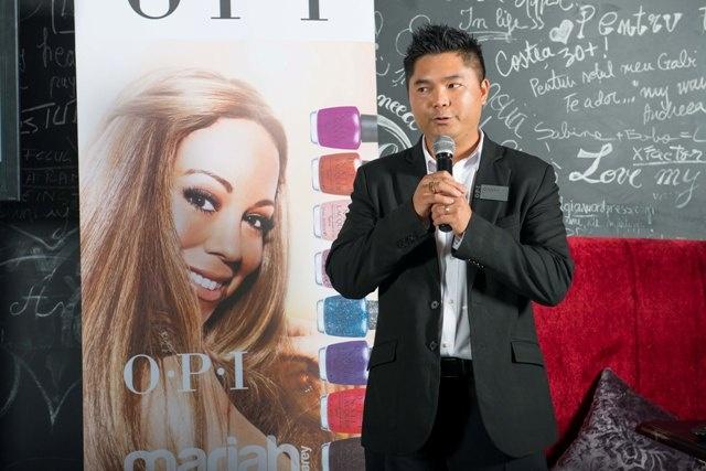 Conferinta de presa OPI, Danny Phung vorbind despre colectiile 2013, Mariah Carey by OPI.