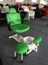 2015 silla de pedicura Hydraulic Pump beauty spa chairs/Luxury spa pedicure chairs with stool and basin