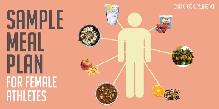 Sample Meal Plans for the Female Vegan Athlete #mealideas