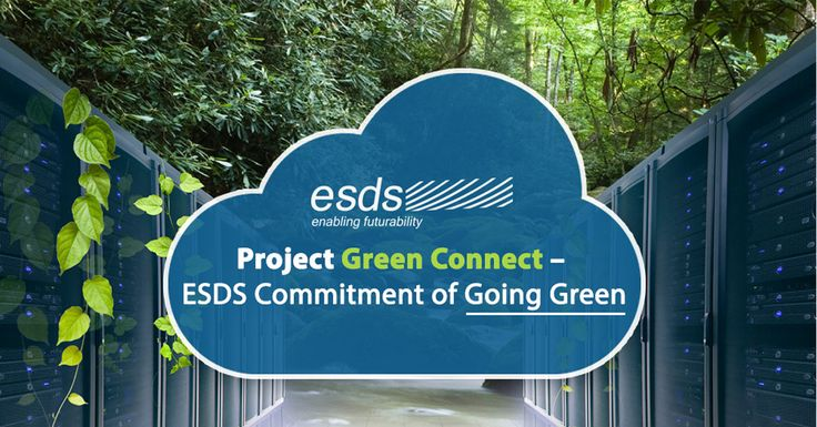 #WebbyWednesday Project Green Connect – ESDS Commitment of Going Green    ESDS is committed towards #GreenIT and has all the plans for effective #ecoconservation and reduce carbon footprints. Check out more here!  #gogreen #technology