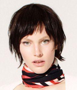 Модели стрижек на средние волосы из модных коллекций весна-лето 2015