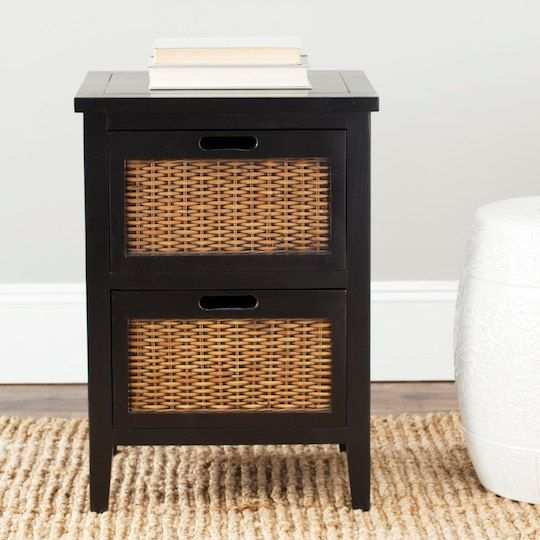 Jonah End Table In Black Products End Tables With