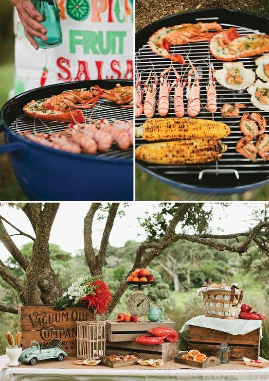 Three Wedding Reception Menu Ideas Part 2 Backyard Barbecue Nirvana Photography Studios