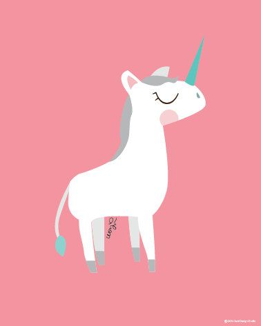 ▲Baby Unicorn .................................................................................................................... You will receive