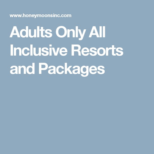 Best all inclusive adults only porn nice photo for All inclusive food and drink resorts
