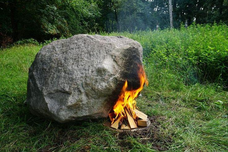 un rocher routeur wifi alimenté par le feu  2Tout2Rien