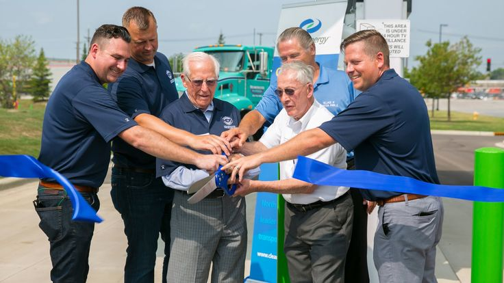 Natural Gas Station Ribbon Cutting Event