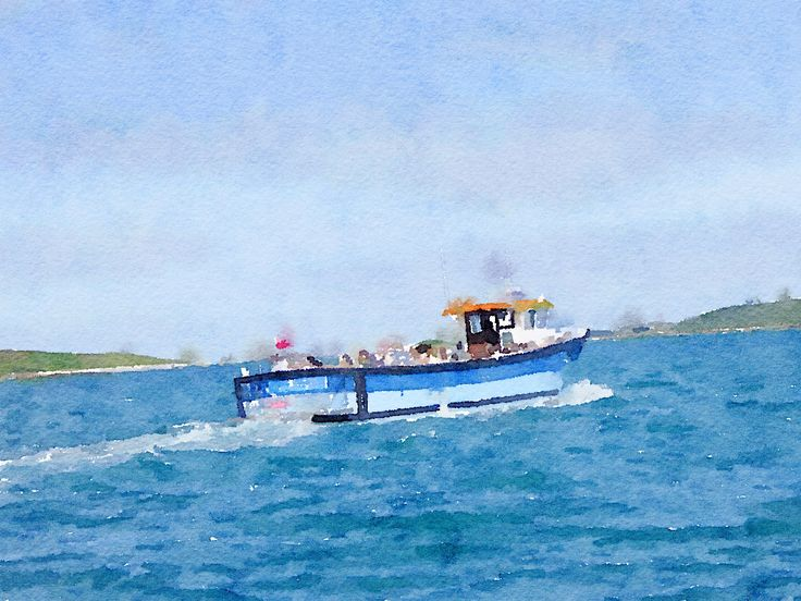 Between the islands - Isles of Scilly