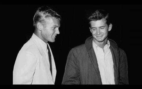 Tab Hunter and Anthony Perkins | Tab Hunter | Pinterest Tab Hunter Partner