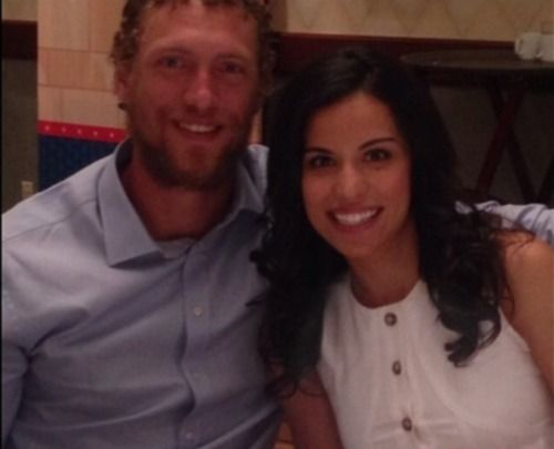 Hunter Pence's Girlfriend Alexis Cozombolidis
