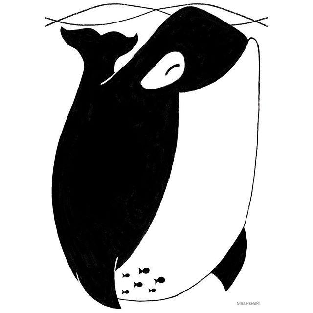 Happy orka poster.  • • • • • #happywhale #orca #plakater #posters #prints #veggpynt #barneplakat #barnerom #designforkids #designforbarn #babygave #babyrom #nursery #kidsinterior #kidsroom #kidsdecor #kidsinspo #nordickids #kidsperation #norskdesign #norwegiandesign #norwegianmade #babydrøm #bobedre #rom123 #boligpluss #mumtrepreneur #mumboss