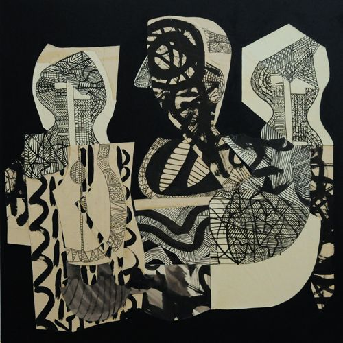 Artist Member: Edith Hillinger's lyrical collages bring together archetypal patterns, botanical lines and a modernist sensibility. Hand drawn lines combined with collage and photography create a sense of fragmentation, which is belied by an energetic interweaving of form and space.